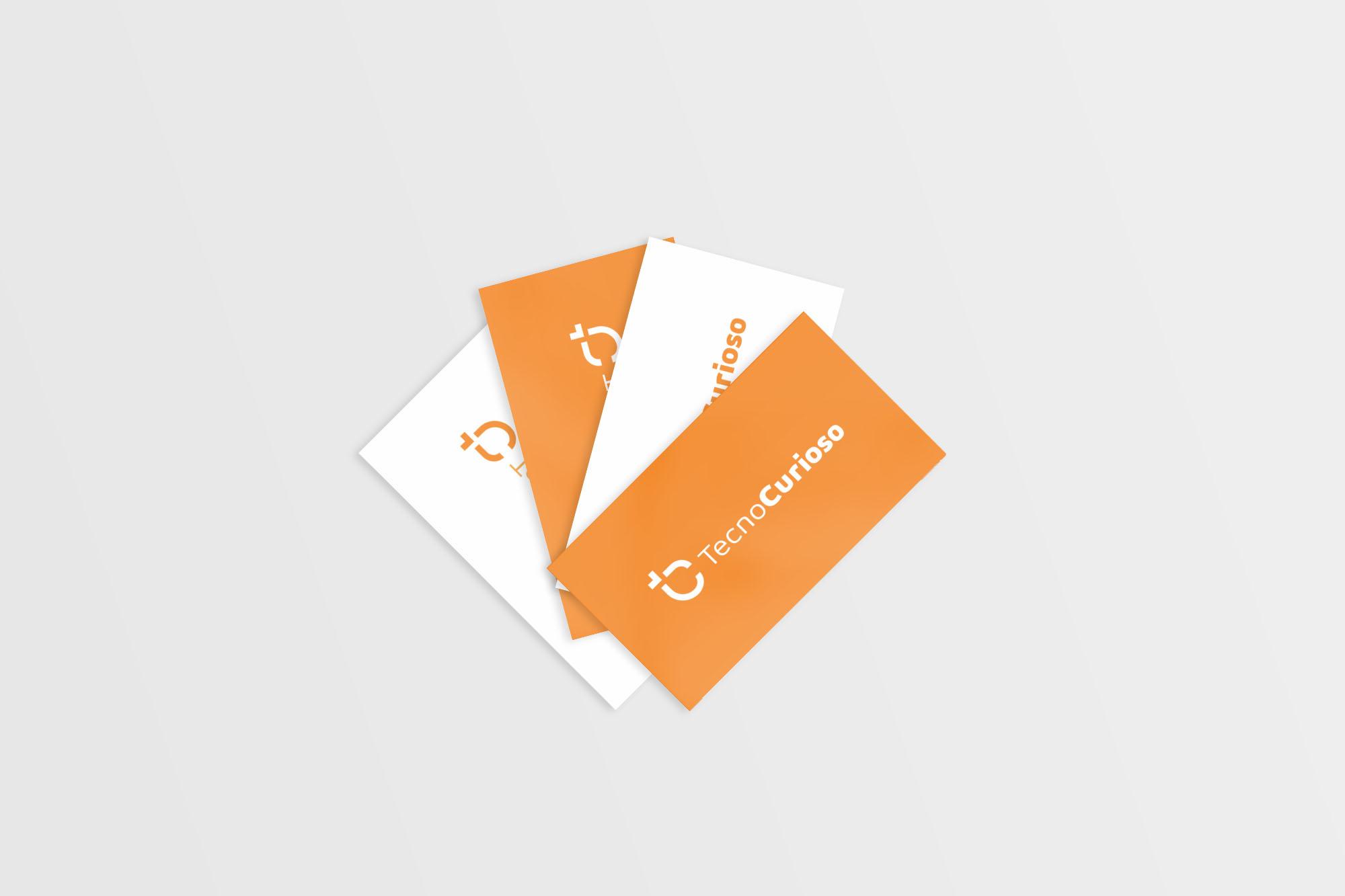 Mockup cartão de visita vários