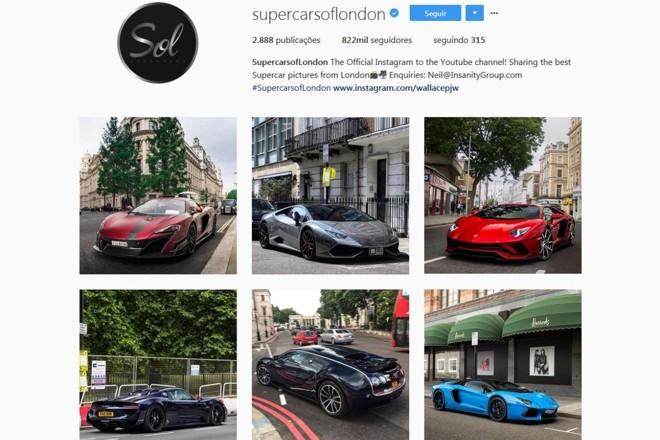 Instagram de loja automotiva